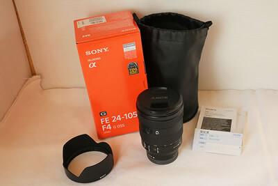 【買取実績】SONY ソニー FE24-105mm F4 G OSS SEL24105G
