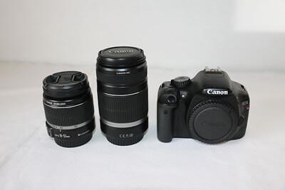 【買取実績】Canon キャノン EOS Kiss X4 ダブルズームキット