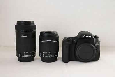 【買取実績】Canon キャノン EOS 8000D ダブルズームキット