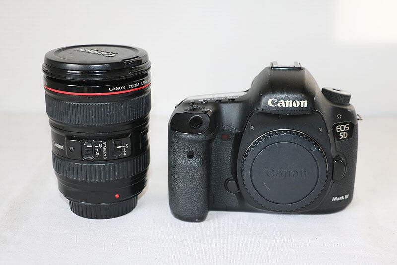 【買取実績】Canon キャノン EOS 5D Mark III 24-105 レンズキット