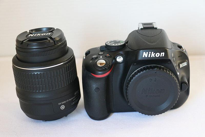 【買取実績】Nikon ニコン D5100 18-55 VR レンズキット
