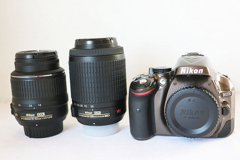 【買取実績】Nikon ニコン D5200 ダブルズームキット ブラウン