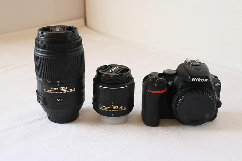 【買取実績】Nikon ニコン D5500 ダブルズームキット