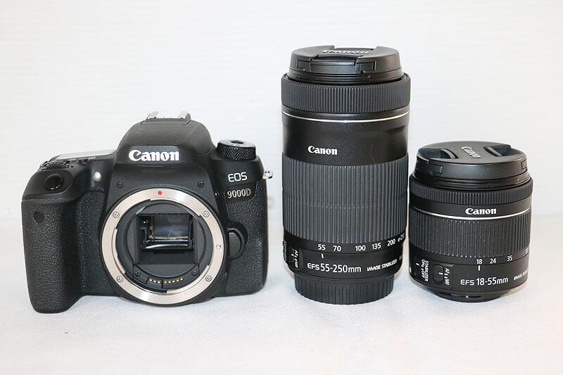 【買取実績】Canon キャノン EOS 9000D ダブルズームキット