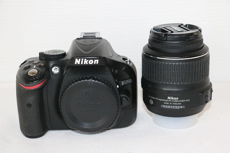 【買取実績】Nikon ニコン D5200 18-55 VR レンズキット