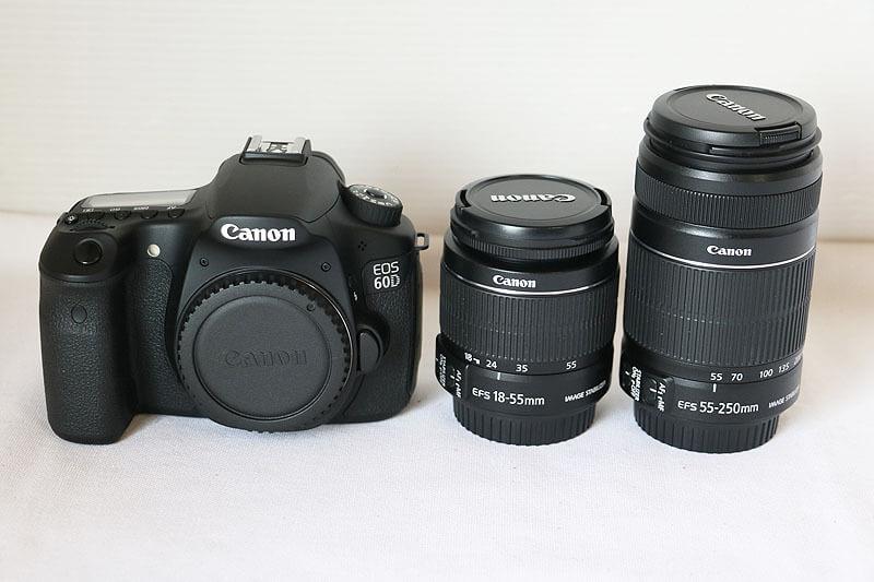 【買取実績】Canon キャノン EOS 60D ダブルズームキット