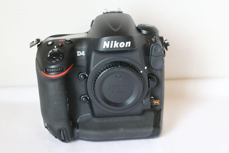 【買取実績】Nikon ニコン D4 ボディ