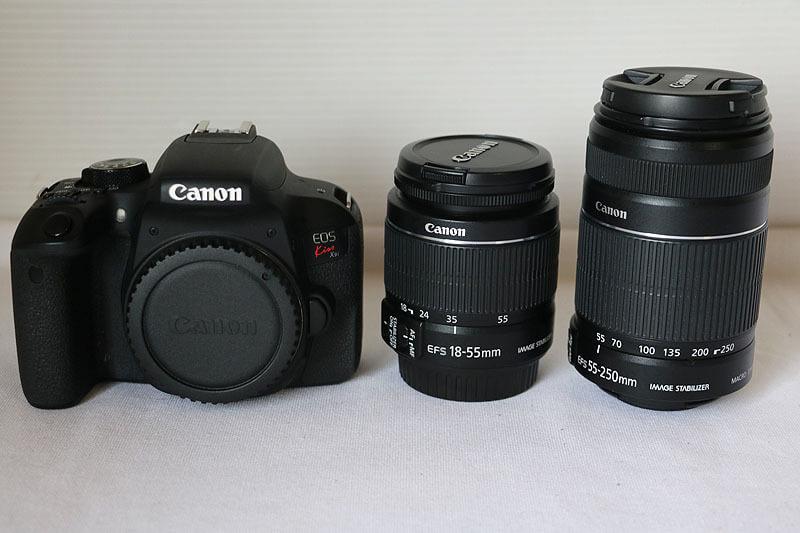 【買取実績】Canon キヤノン EOS Kiss X9i ダブルズームキット