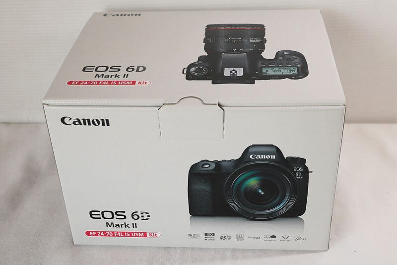 【買取実績】Canon キャノン EOS 6D Mark II 24-70 F4L IS USM レンズキット