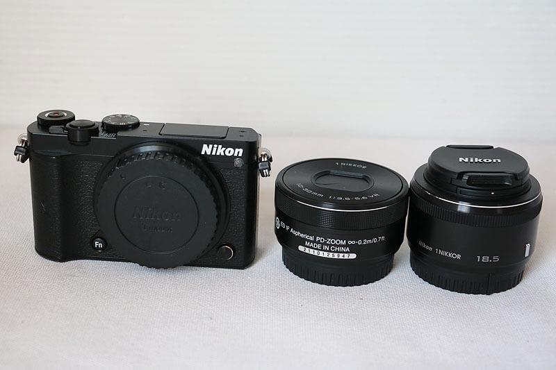 【買取実績】Nikon ニコン Nikon 1 J5 ダブルレンズキット