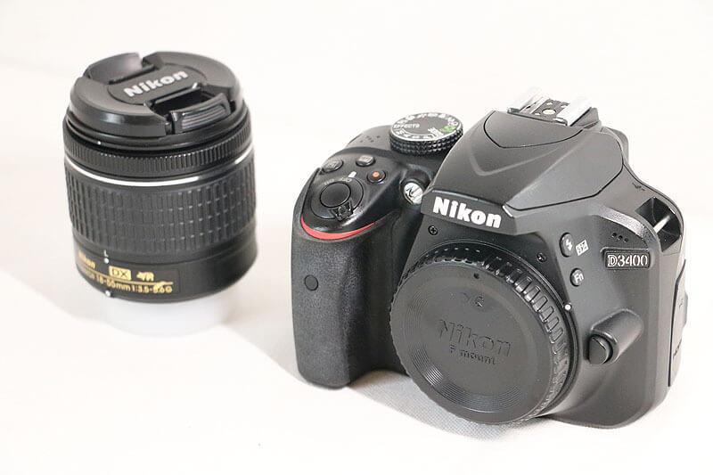 【買取実績】Nikon ニコン D3400 18-55VR レンズキット