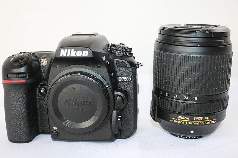 【買取実績】Nikon ニコン D7500 18-140 VR レンズキット