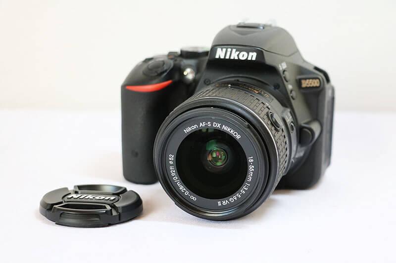 【買取実績】Nikon ニコン D5500 18-55 VR II レンズキット