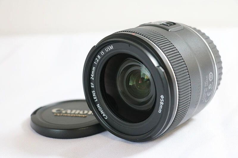【買取実績】Canon キャノン EF24mm F2.8 IS USM|中古買取価格26,000円