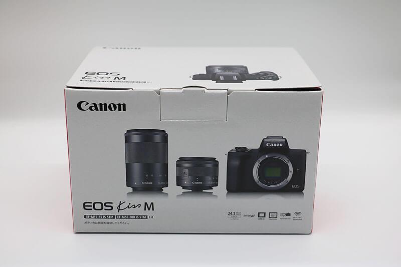 【買取実績】Canon キャノン EOS Kiss M 黒 ダブルズームキット|中古買取価格65,000円