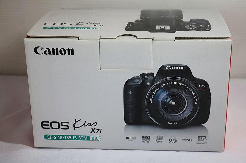 【買取実績】Canon キャノン EOS Kiss X7i EF-S18-135IS STM レンズキット|中古買取価格38,000円