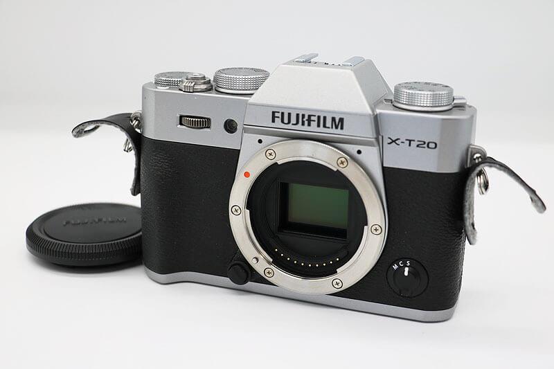 【買取実績】FUJIFILM 富士フィルム X-T20  シルバー|中古買取価格31,000円