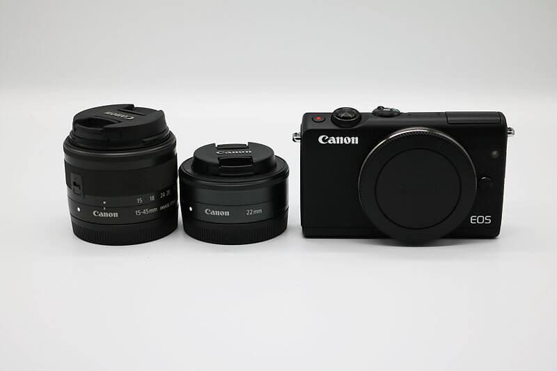 【買取実績】Canon キャノン EOS M100 (BK) ダブルレンズキット|中古買取価格27,000円