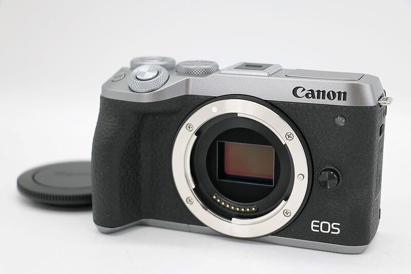【買取実績】Canon キャノン EOS M6 Mark Ⅱ シルバー