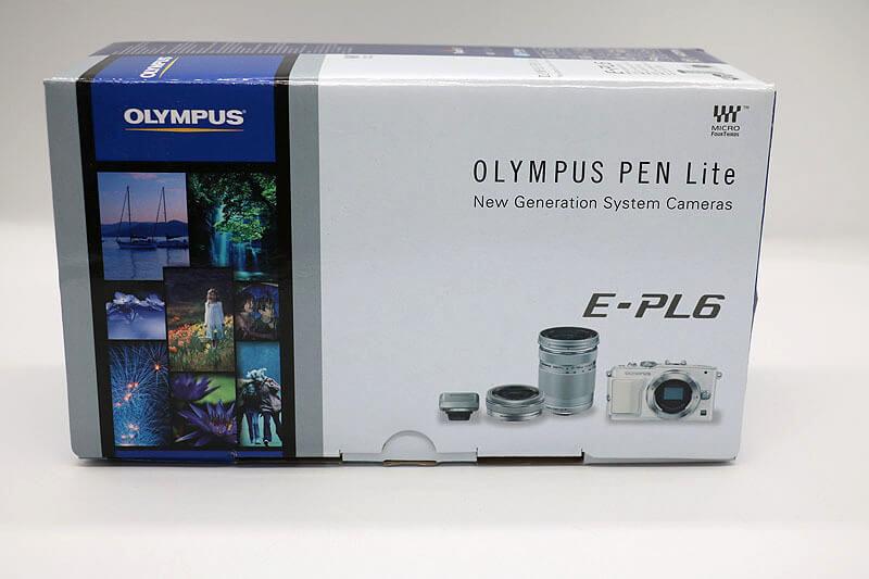 【買取実績】OLYMPUS PEN Lite E-PL6 EZダブルズームキット ホワイト