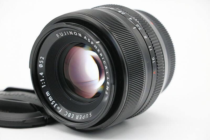 【買取実績】富士フイルム FUJIFILM フジノンレンズ XF35mmF1.4 R