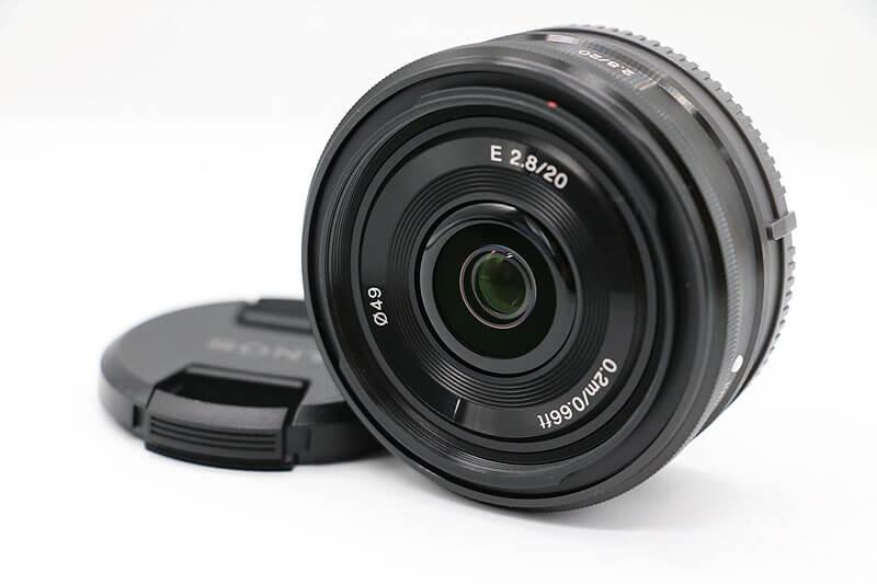 【買取実績】SONY ソニー αE20mm F2.8 SEL20F28