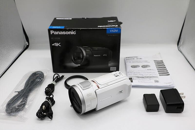 【買取実績】Panasonic パナソニック HC-VX2M-W