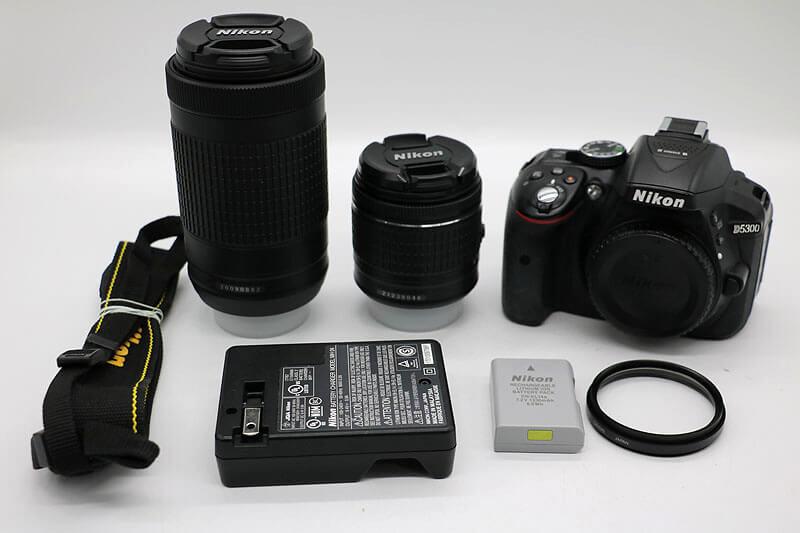 【買取実績】Nikon ニコン D5300 ダブルズームキット