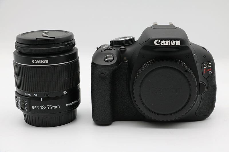 【買取実績】Canon EOS kiss X5 18−55mm レンズキット