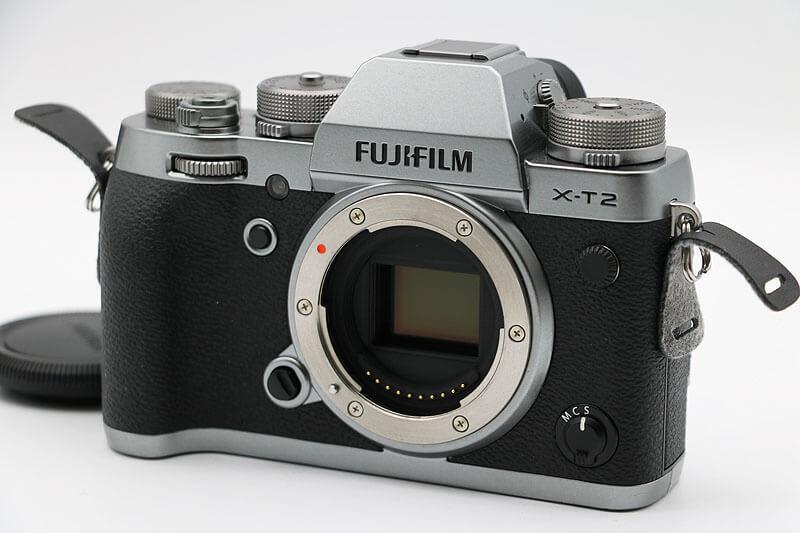 【買取実績】FUJIFILM X-T2 Graphite Silver Edition